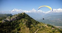Tandem Paragliding in Pokhara: Free As a Bird