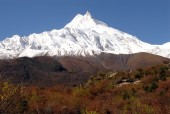 World's one of the highest mountain Mt. Manaslu (8163m.:26381ft.).jpg