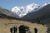 Open meadow just above Langtang Village and Langshisha Ri in background.jpg